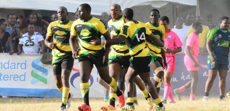 No change in the Kenya Cup's top three after match day seven